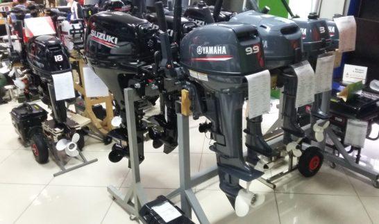 Соотношение мощностей отечественных и зарубежных лодочных моторов