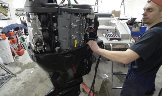 Установка лодочного мотора советы специалиста