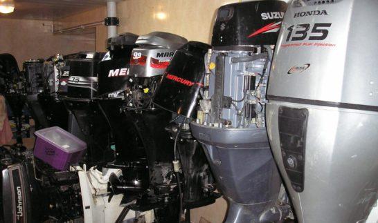Покупка бывшего в употреблении лодочного мотора