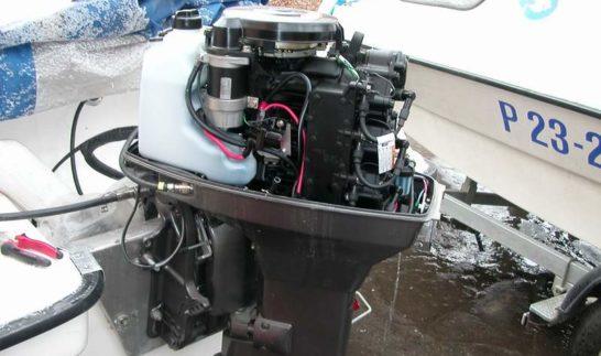 Консервация подвесного лодочного мотора на зиму