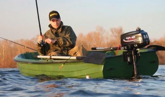 Выбираем подвесной лодочный мотор для рыбалки