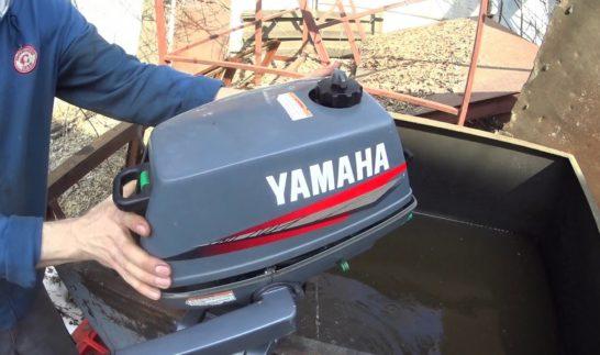 Уход за подвесным лодочным мотором